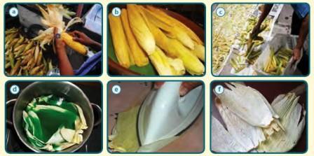 kerajinan kulit jagung