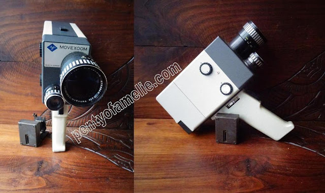 Rare circa 1960 Agfa Movexoom 8mm movie camera. narrow-film camera. Circa 1960.The first camera was released in 1963, made in germany.
