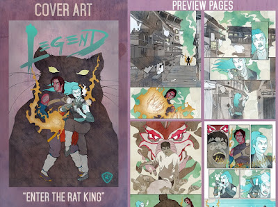 Legend 2 Graphic Novel Kickstarter Campaign by Jerry Ma
