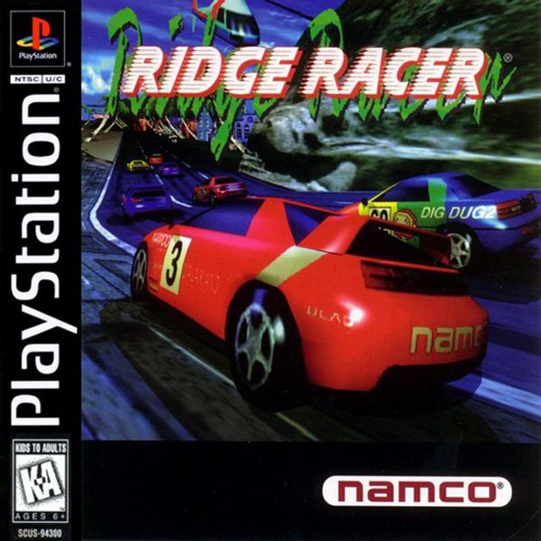 Ridge Racer - PS1 - ISOs Download