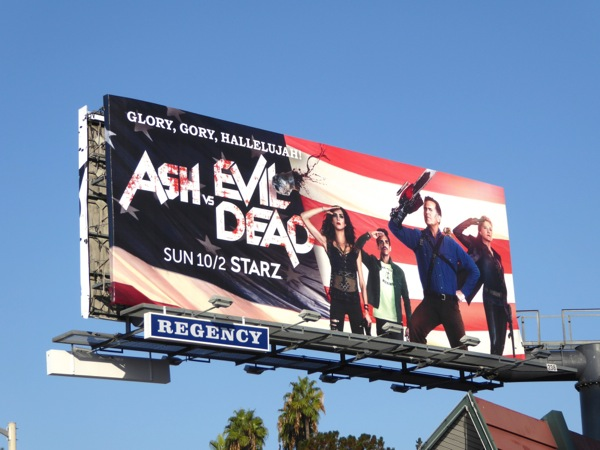 Ash Evil Dead 2 Glory gory hallelujah billboard