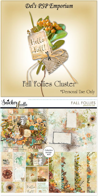 Fall Follies Cluster