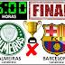 Palmeiras e Barcelona farão final da Copa Unopar