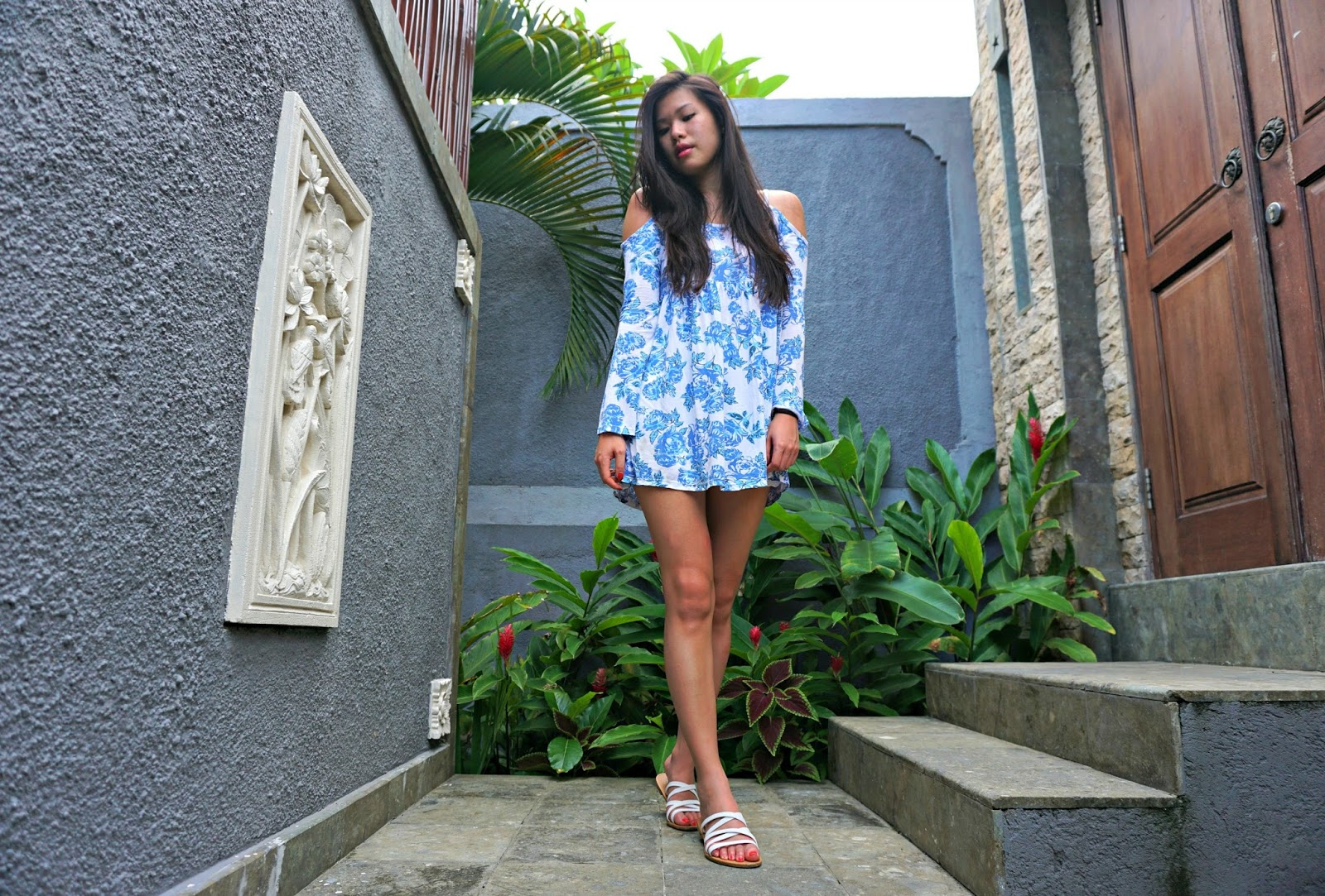 Floral Print Swing Top Dress Primark
