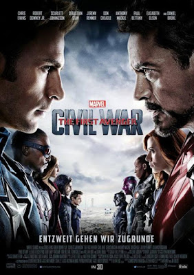 Captain America: Civil War International Theatrical One Sheet Movie Poster