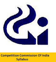 Competition Commission Of India Syllabus