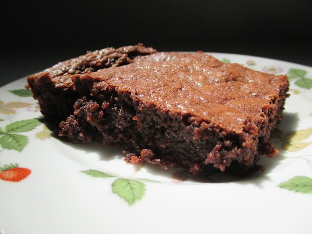 grain-free almond flour brownie