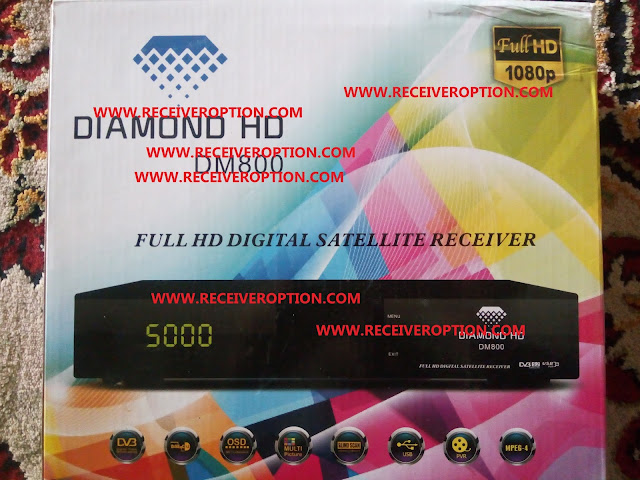 DIAMOND HD DM800 RECEIVER DUMP FILE