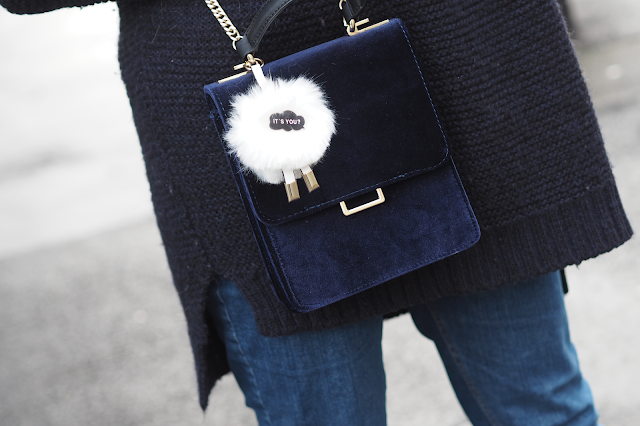 zara pom pom bag fashion blog