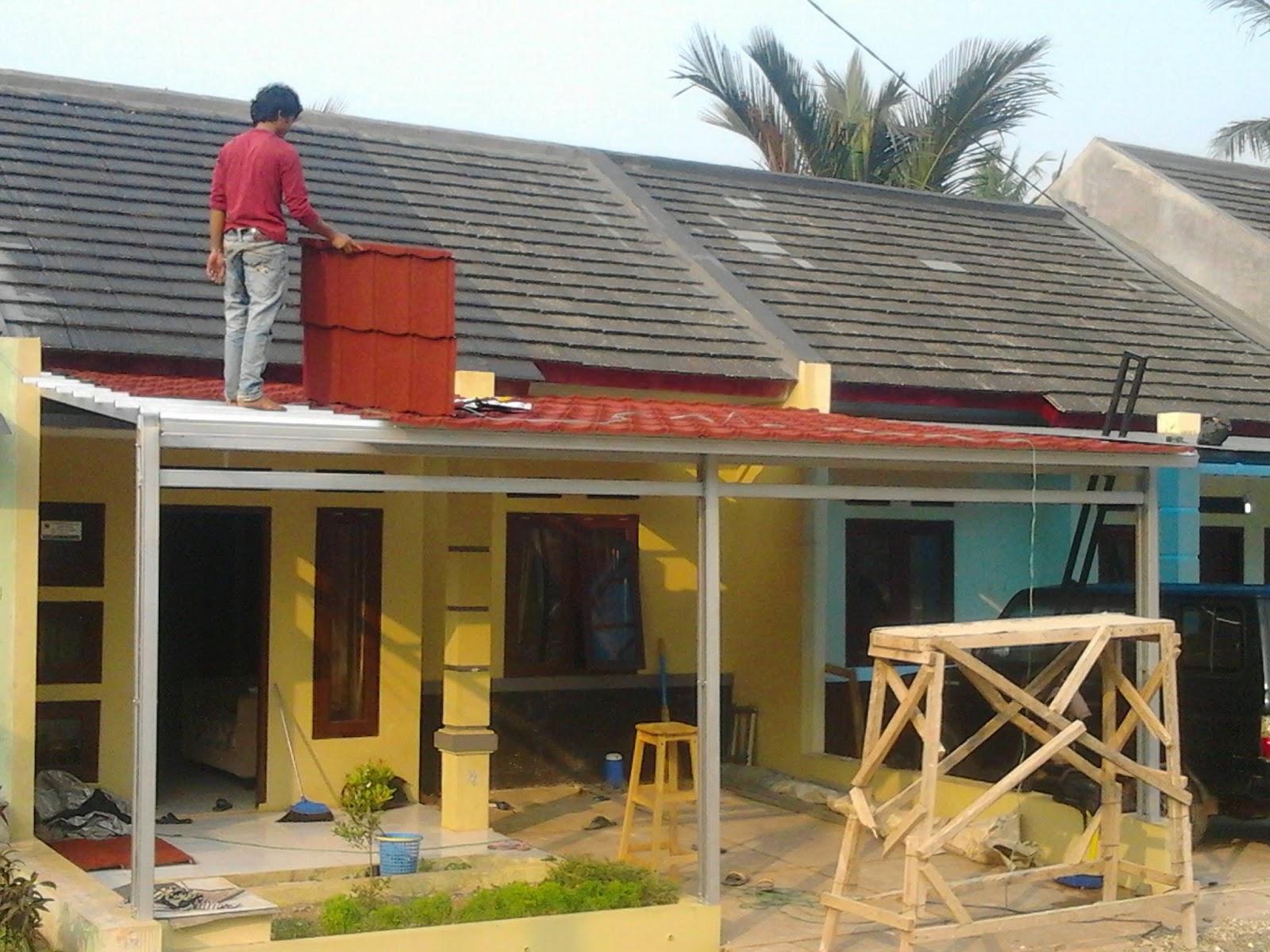 harga atap baja ringan di indramayu genteng metal dan rangka