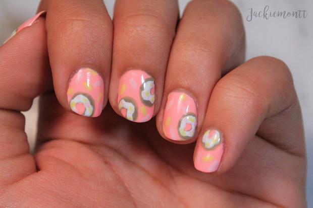 donut nail art - jackiemontt