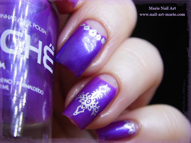 nail art clear jelly stamper3