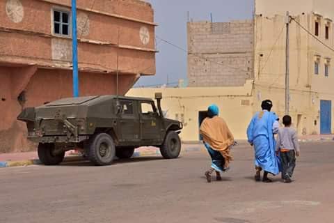 Armamento marroquí de fabricación española en las zonas ...