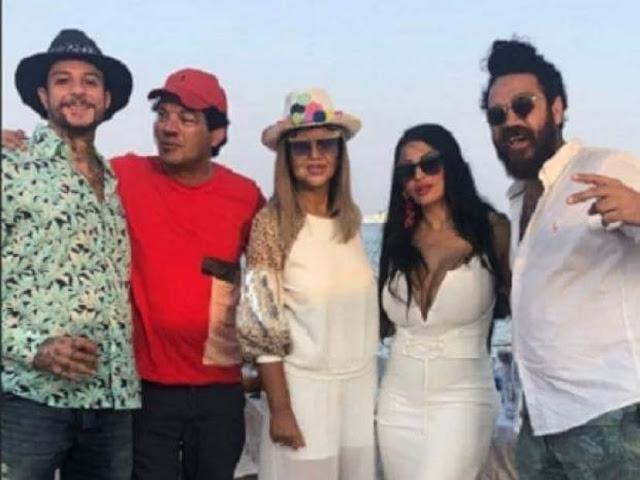 احمد الفيشاوي يحتفل بزواجه على أحد شواطئ  الجونة