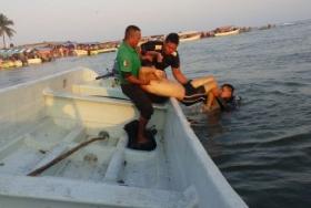 Hallan ahogado a joven xalapeño en playa de Chachalacas Veracruz