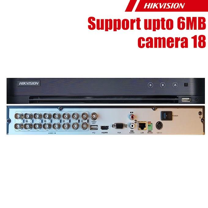 DVR Hikvision DS-7216HQHI-K2:6MP