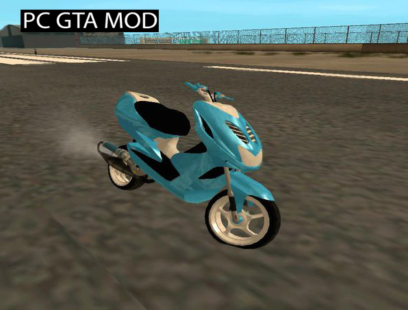 Free Download Aerox Naked V2 Mod for GTA San Andreas.