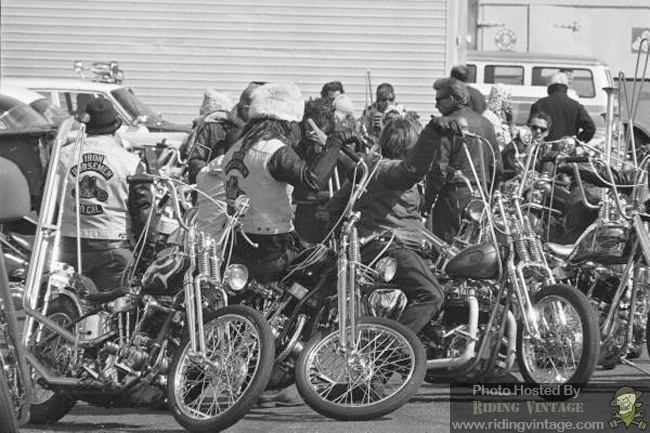 Riding with the Hells Angels ~ Riding Vintage