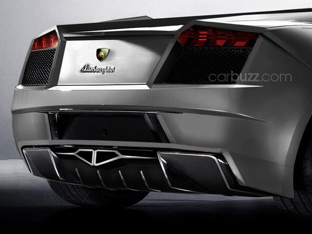 Lamborghini+Cabrera+rear+view