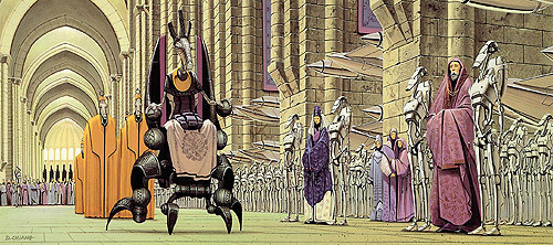 Star Wars requel parade concept design