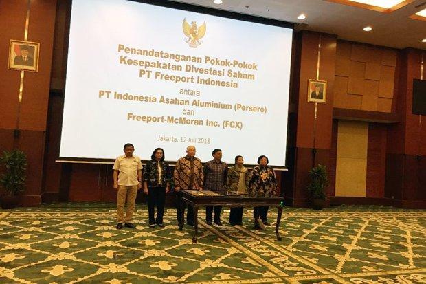 Sah, Dipimpin Presiden yang Sering Difitnah Pro Asing Indonesia Ambil Alih 51% Saham Freeport