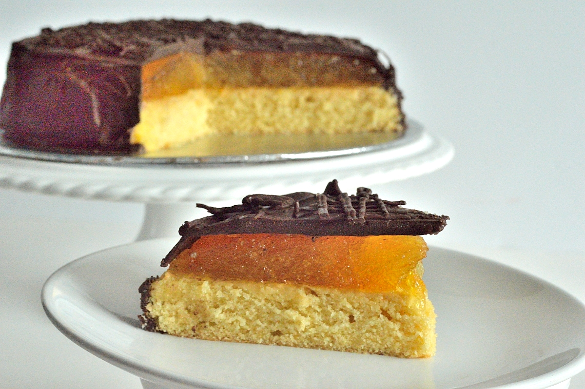 How To Make A Giant Jaffa Cake