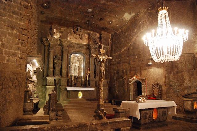 chapelle de Sainte-Cunégonde Wieliczka