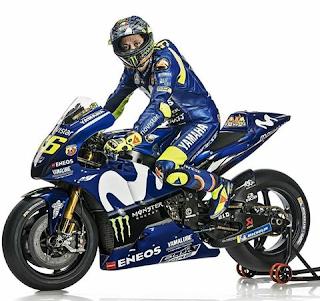 Tampilan Baru Yamaha YZR-M1 MotoGP 2018