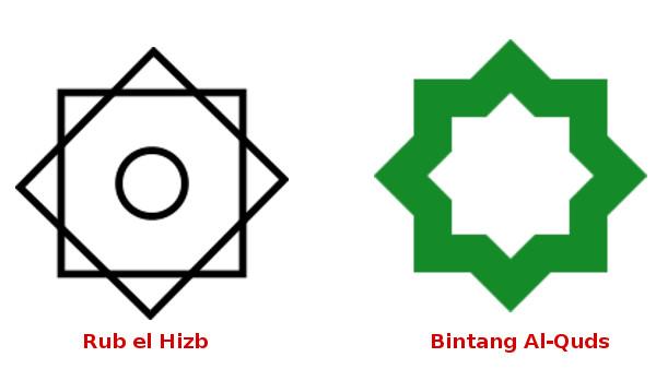 Bintang Segi Delapan, Rub el Hizb