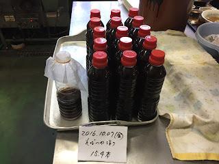 そばつゆ作り(2016.10.07)