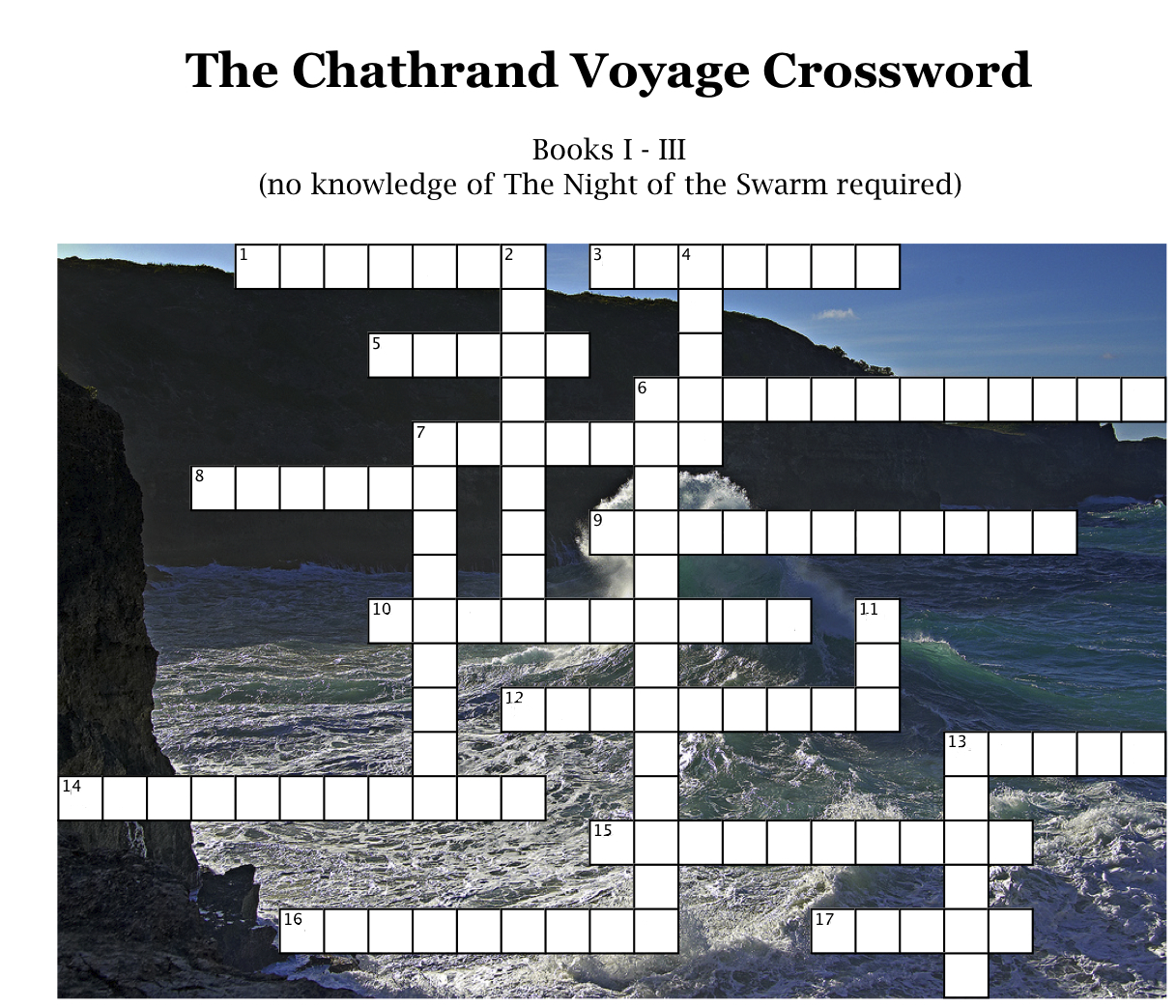Letters From Alifros The Chathrand Voyage Crossword Puzzle