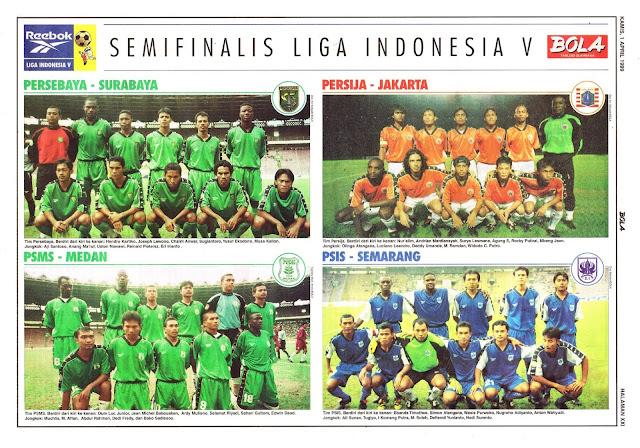 SEMIFINALIS LIGA INDONESIA V