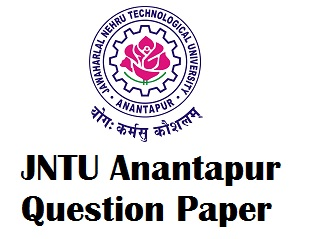 JNTU Anantapur Previous Question Papers