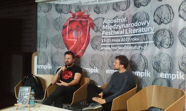 Apostrof. Międzynarodowy Festiwal Literatury || Dzień drugi w Gdańsku