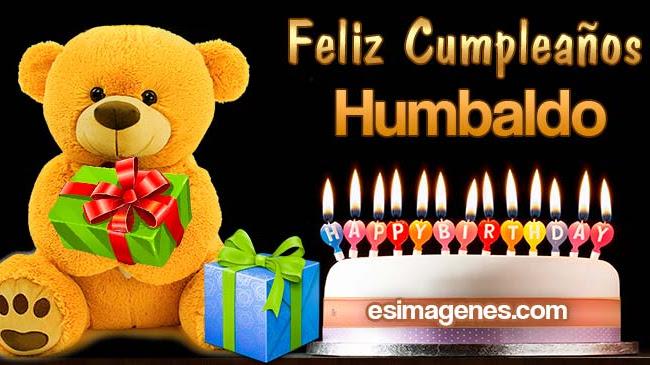 Feliz cumpleaños Humbaldo