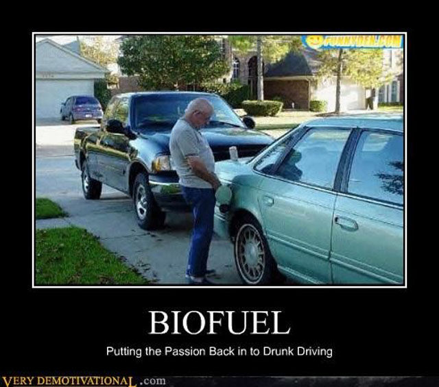 Biofuel, putting back the passion back to drunk driving