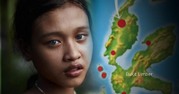 Fakta Unik Tentang Suku Lingon, Manusia Bermata Biru dari Halmahera
