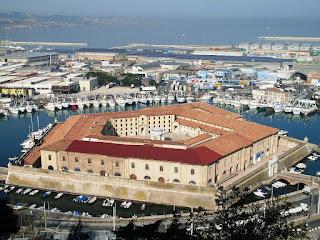 Vanvitelli's pentagonal building was also known as Mole Vanvitelliana