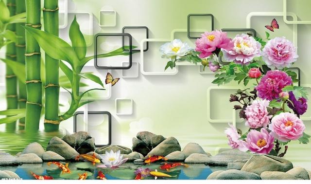 tranh kinh hoa mau don