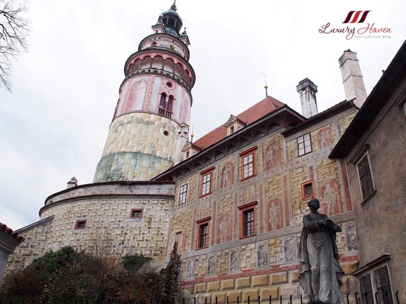 eu holidays czech republic cesky krumlov castle