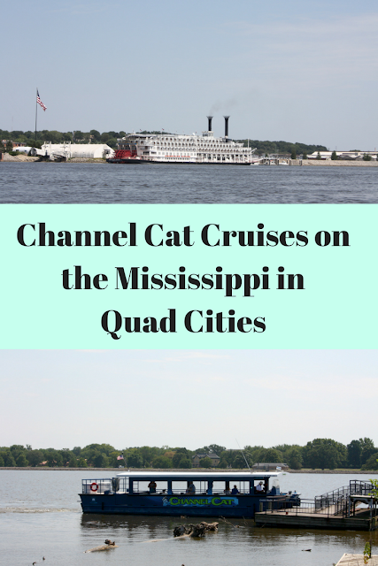 Channel Cat Cruises on the Mississippi in the Quad Cities