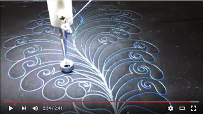 tracey russell whirls n swirls quilting free motion tutorials