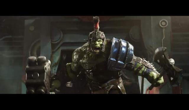 Hulk vs Thor in Thor: Ragnarok