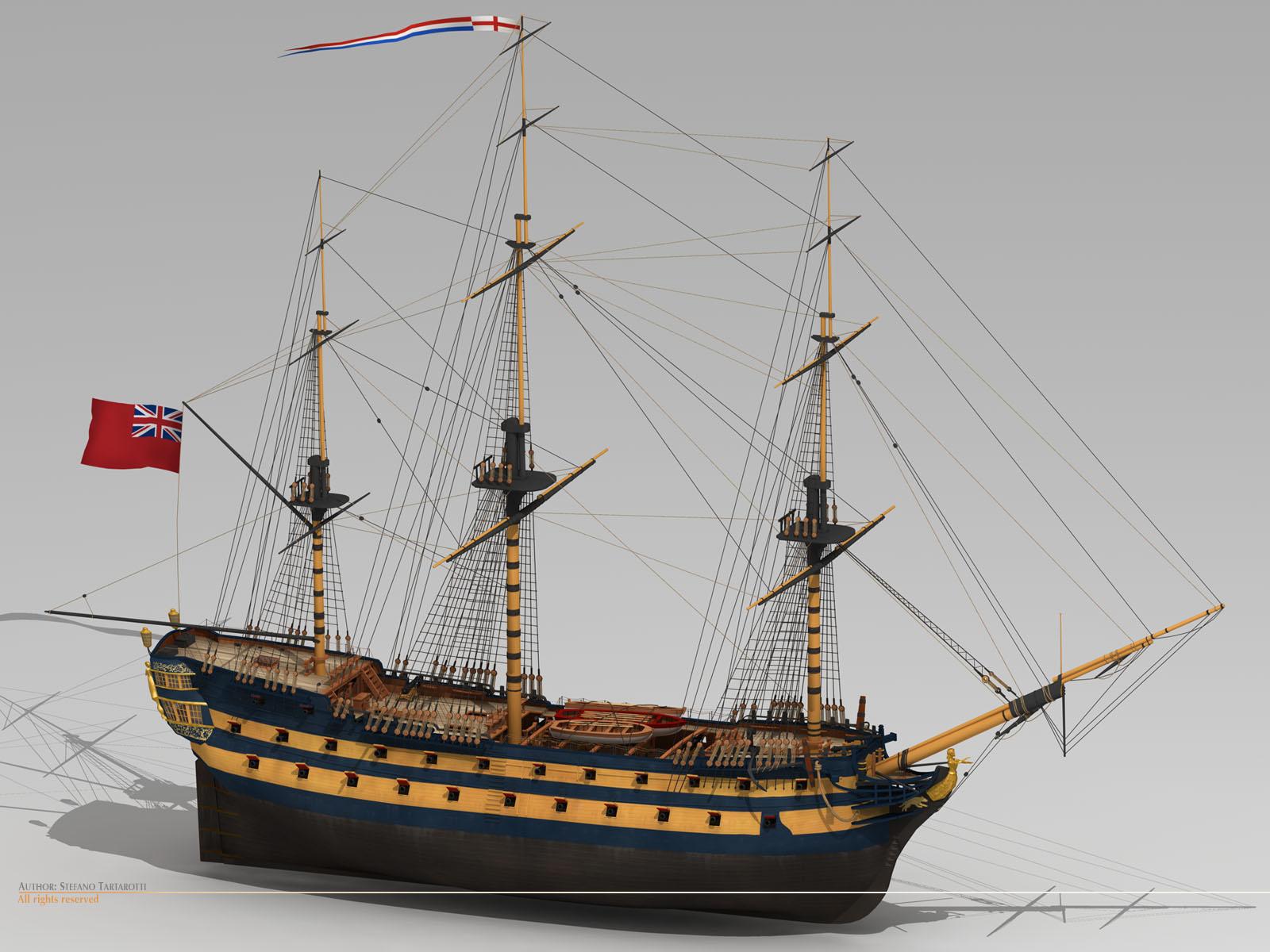 Kabinettskriege Ships In The Late Kabinettskriege Period