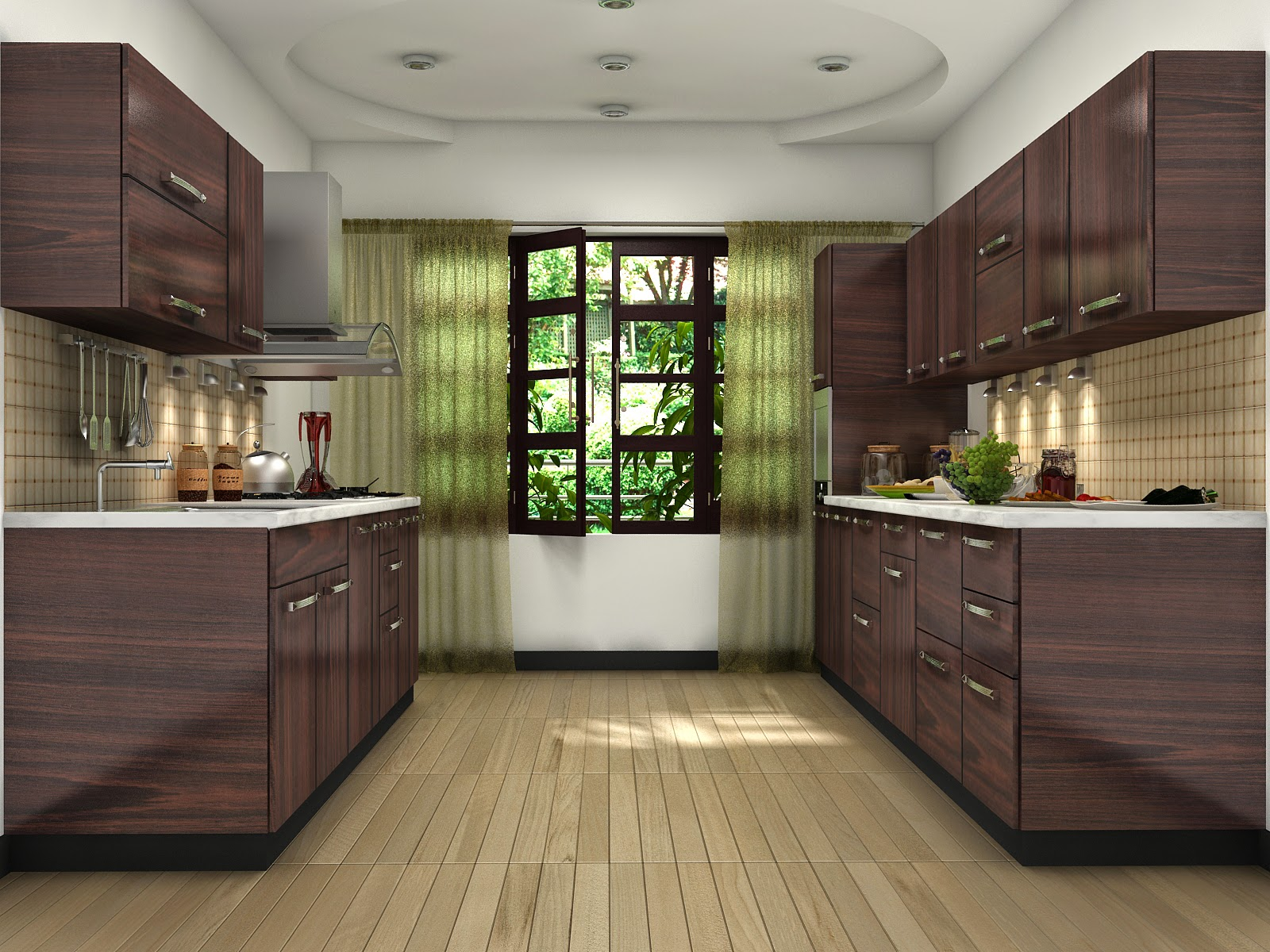 Modular Kitchen Designs L Shaped Kitchen
