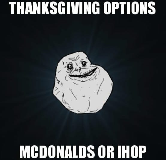 thanksgiving meme funny