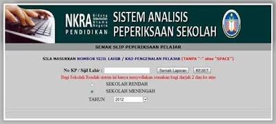 Sistem SAPS Ibu Bapa