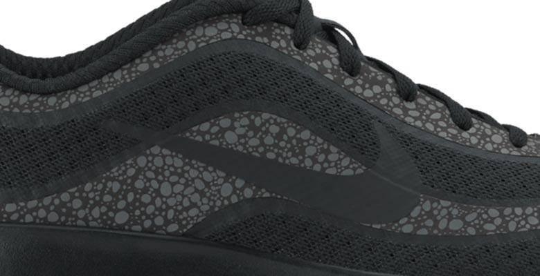 nike air max mercurial 98 sneakers zwart