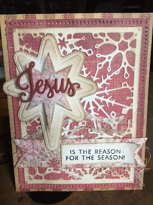 Our Daily Bread Designs, Jesus Loves You Stamp Die Duo (clear stamps), Snowflake Sky Die, Splendorous Star die