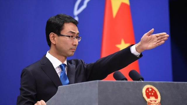 China a EEUU y Japón: Deben dejar de hacer comentarios erróneos